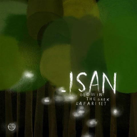 isan - glow in the dark safari set
