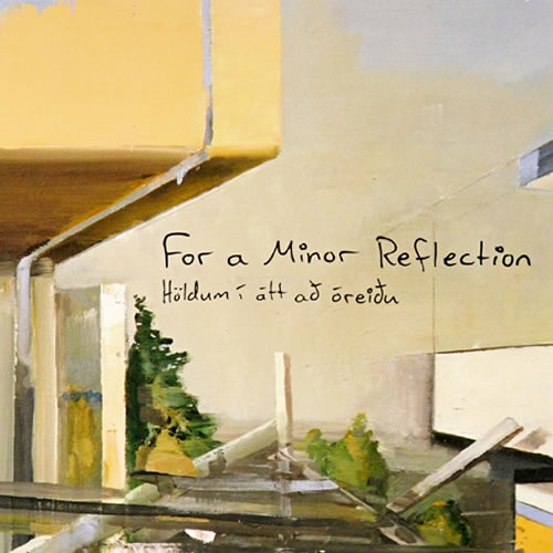 for a minor reflection - cover