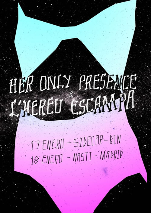 l'hereu escampa - her only presence